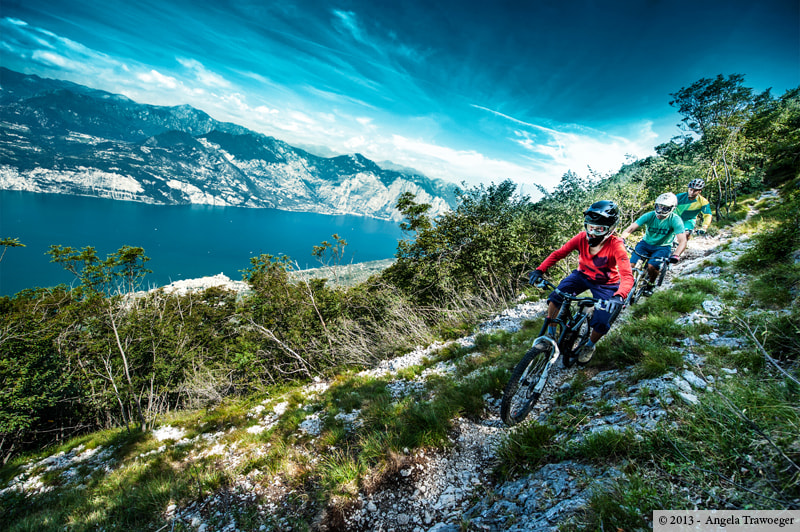 Photograph Downhill • Monte Baldo by Angela Trawoeger on 500px