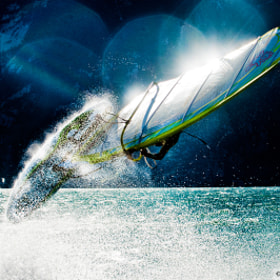 Windsurf • Lake Garda by Angela Trawoeger (angelatrawoeger)) on 500px.com