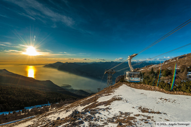 Photograph Monte Baldo • Sunset by Angela Trawoeger on 500px