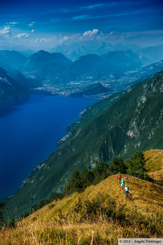 Photograph Bike • Monte Baldo by Angela Trawoeger on 500px