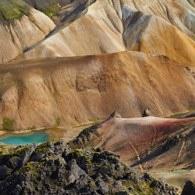 Photograph colorMountains by Lukas Bachschwell