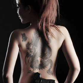 Tattoo Girl Dragon 2 by Champ A. S. (champphoto)) on 500px.com