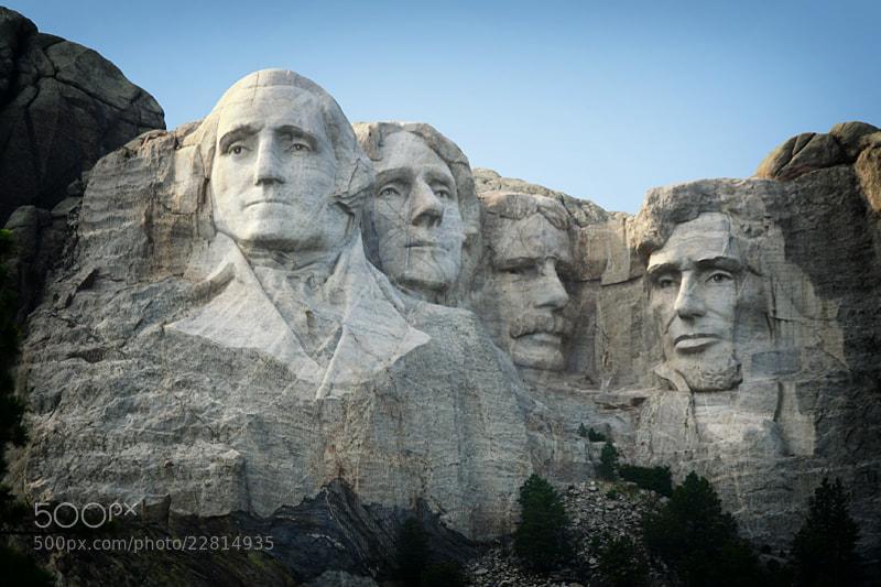 Photograph Mount Rushmore, South Dakota by Bambi L. Dingman on 500px