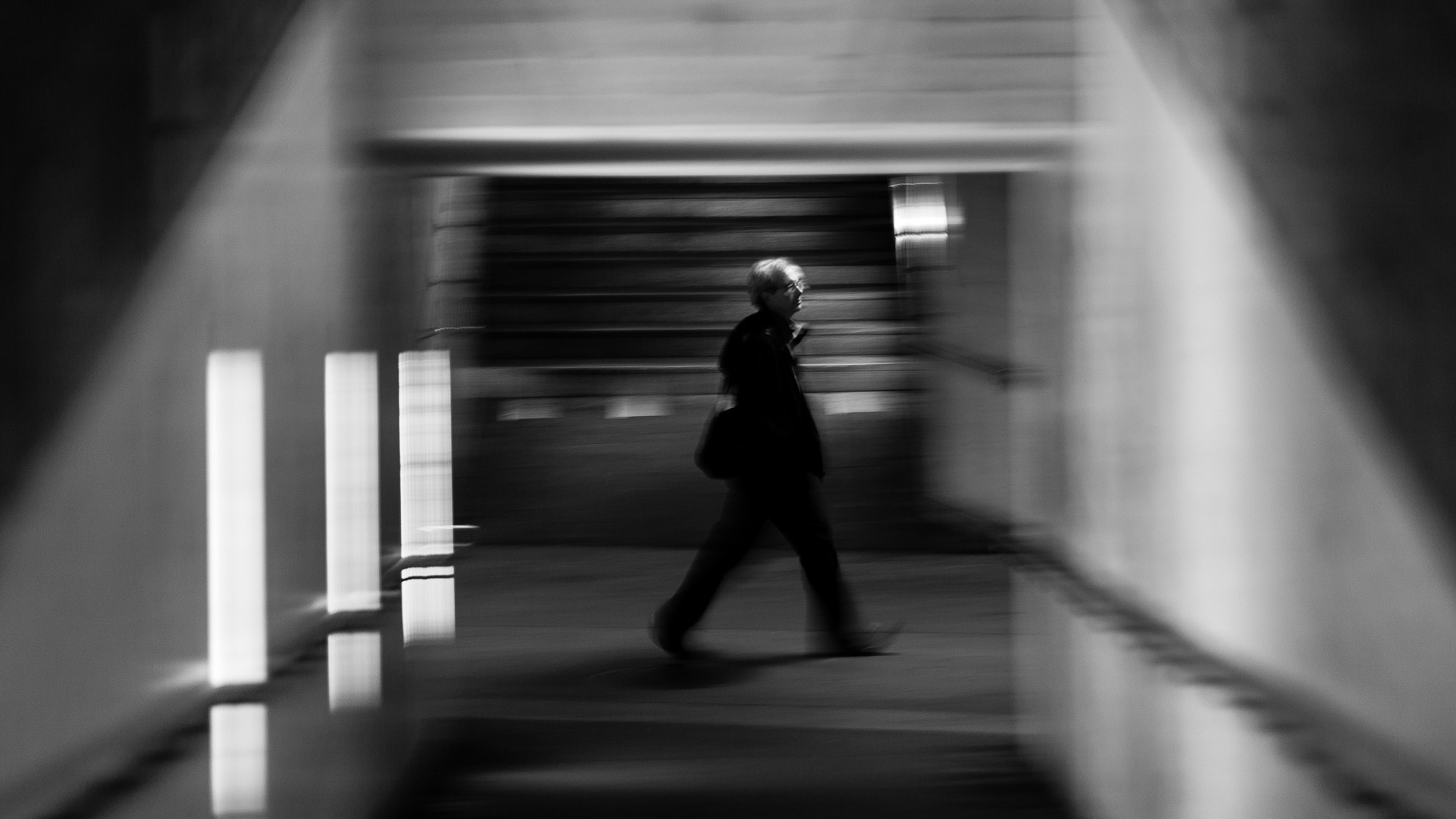 Photograph He's walking by Xavier   on 500px