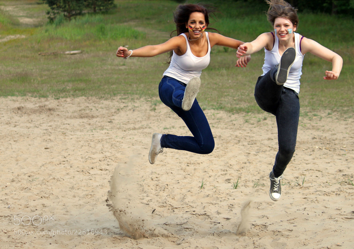 Photograph jump by Maria Durand on 500px