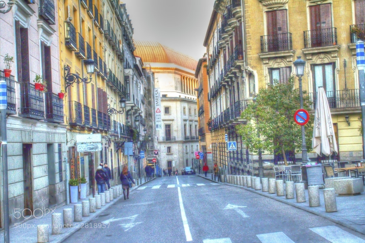 Photograph Street of Madrid by Jose  Caballero on 500px