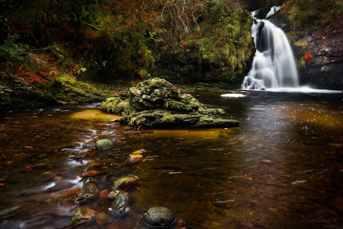 Photograph Tourmakeady Waterfall by conor ledwith on 500px