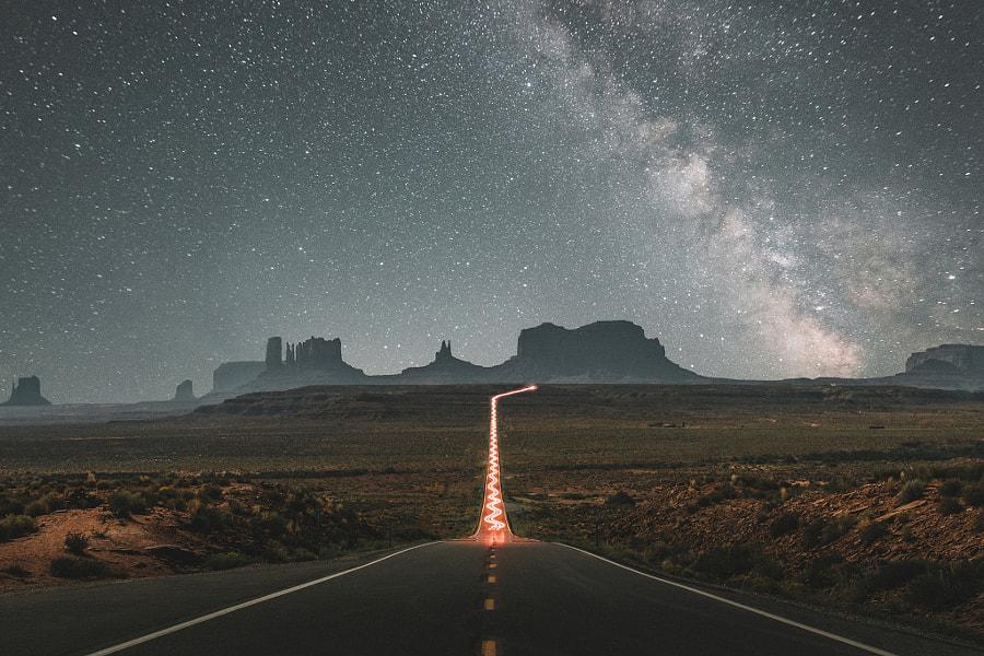 The Infamous Road to Monument Valley de Connor Surdi sur 500px.com