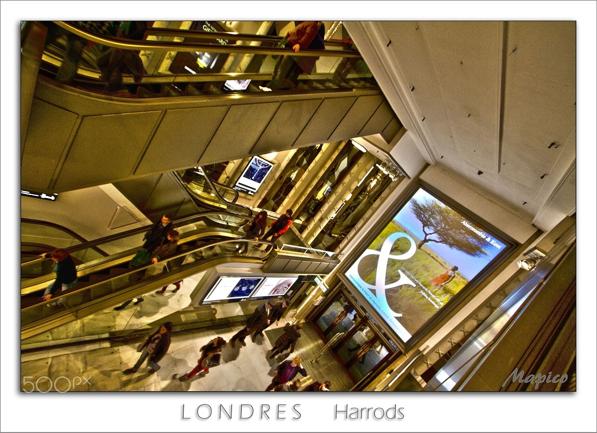 Photograph Londres Harrod's by Pierre COURTINE on 500px