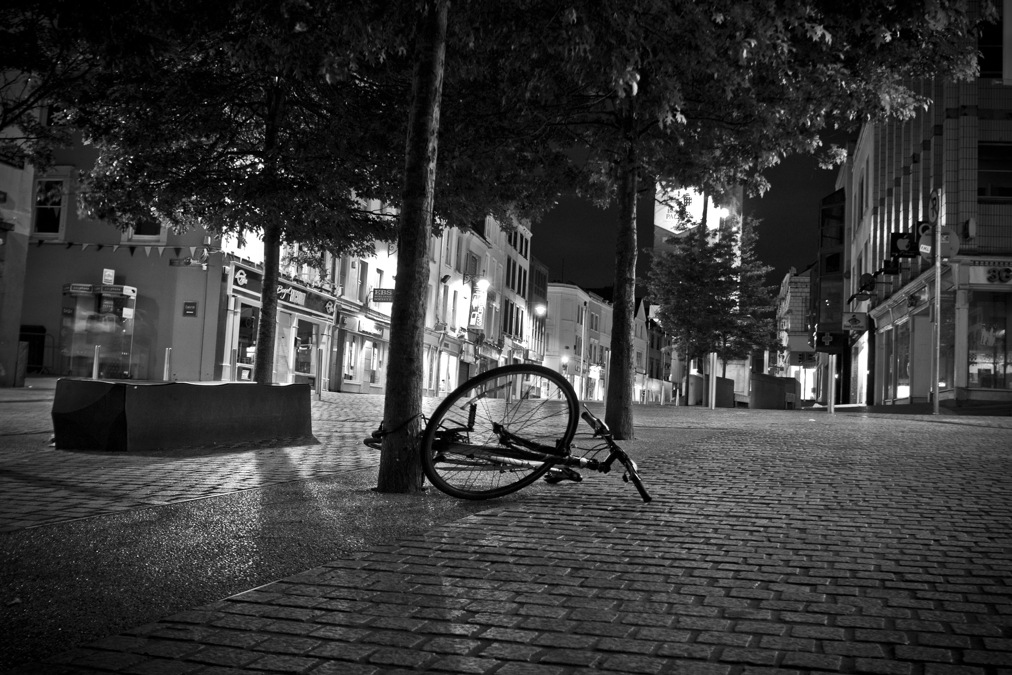 Photograph The Lonely Bike by Shane McDonald on 500px