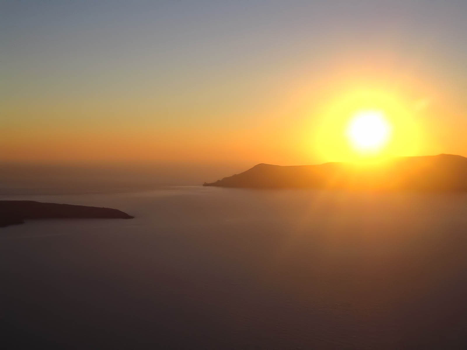 Photograph Santorini Sunset by Pete  on 500px
