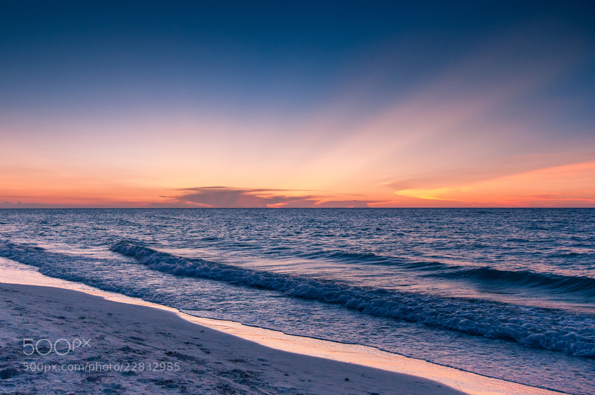 Photograph Ocean Sunset by Bright Creation Photography on 500px
