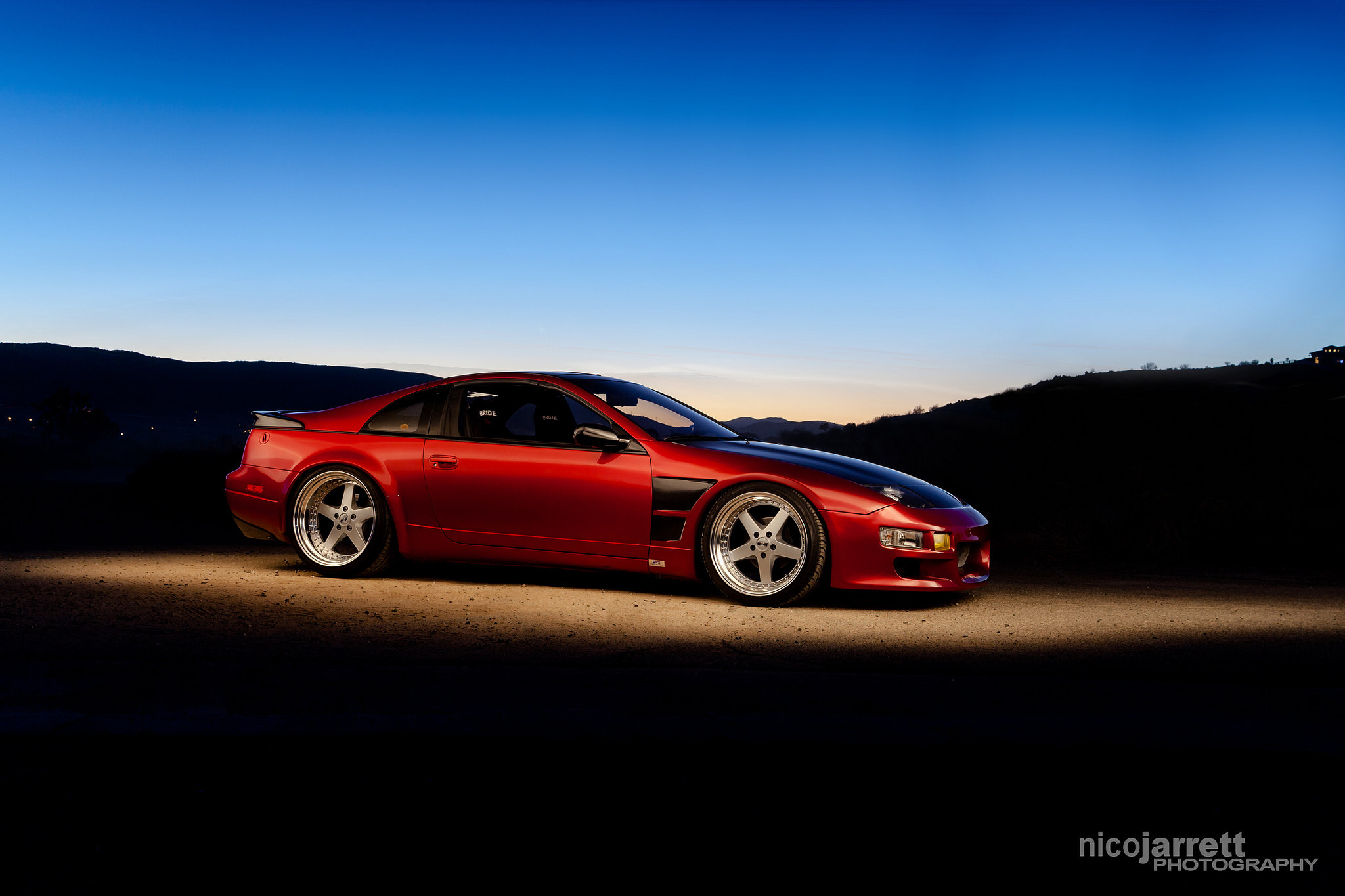 Photograph 300ZX Light Paint Photoshoot by Nico Jarrett on 500px