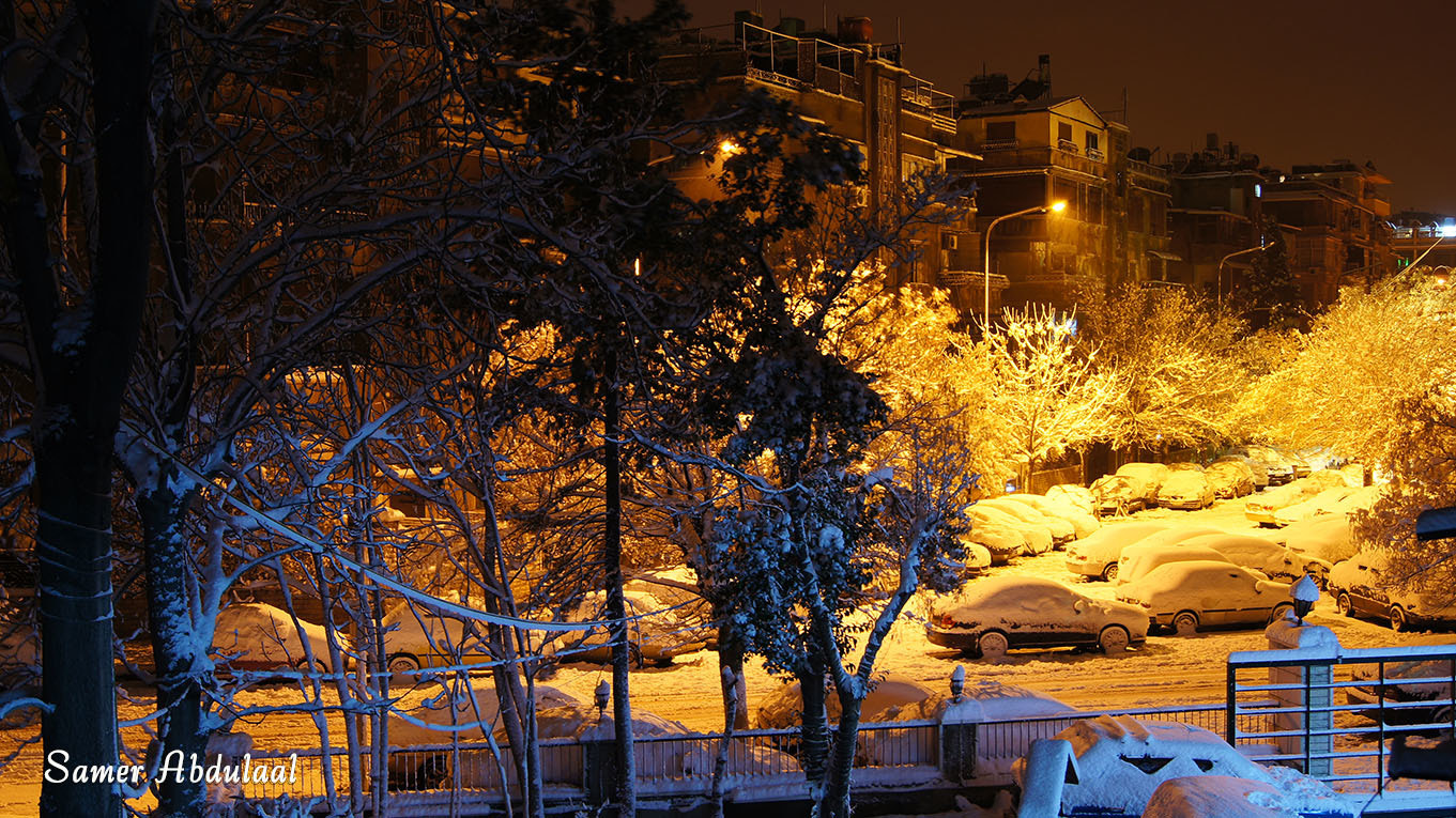 Photograph Snows Damascus  by Samer Abdulaal on 500px