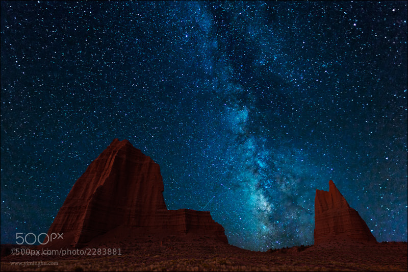 Photograph Milky Way by Yiming Hu on 500px