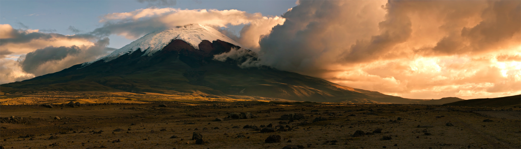 Photograph Cotopaxi Panorama by Fernando Salas on 500px