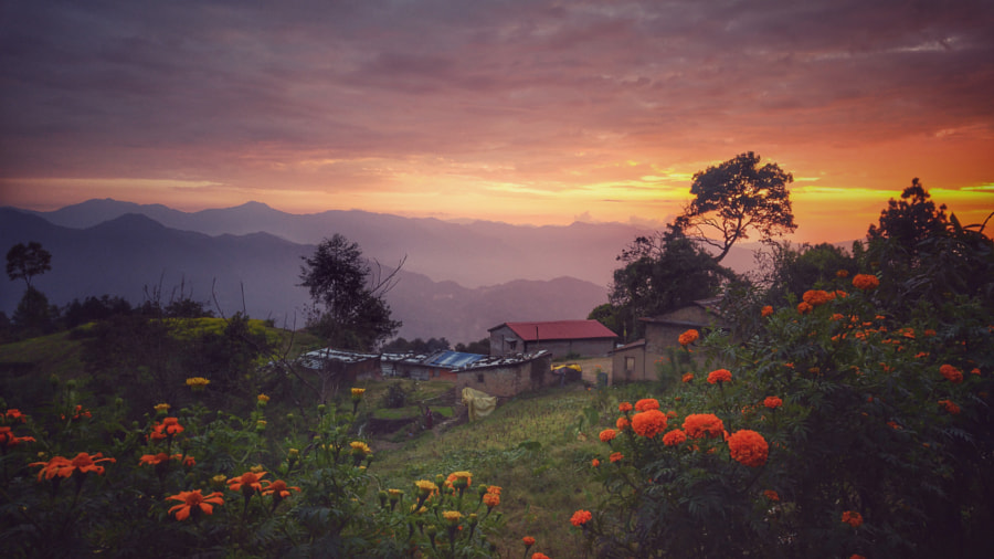 Sunset View by Abinash Dhungana on 500px.com