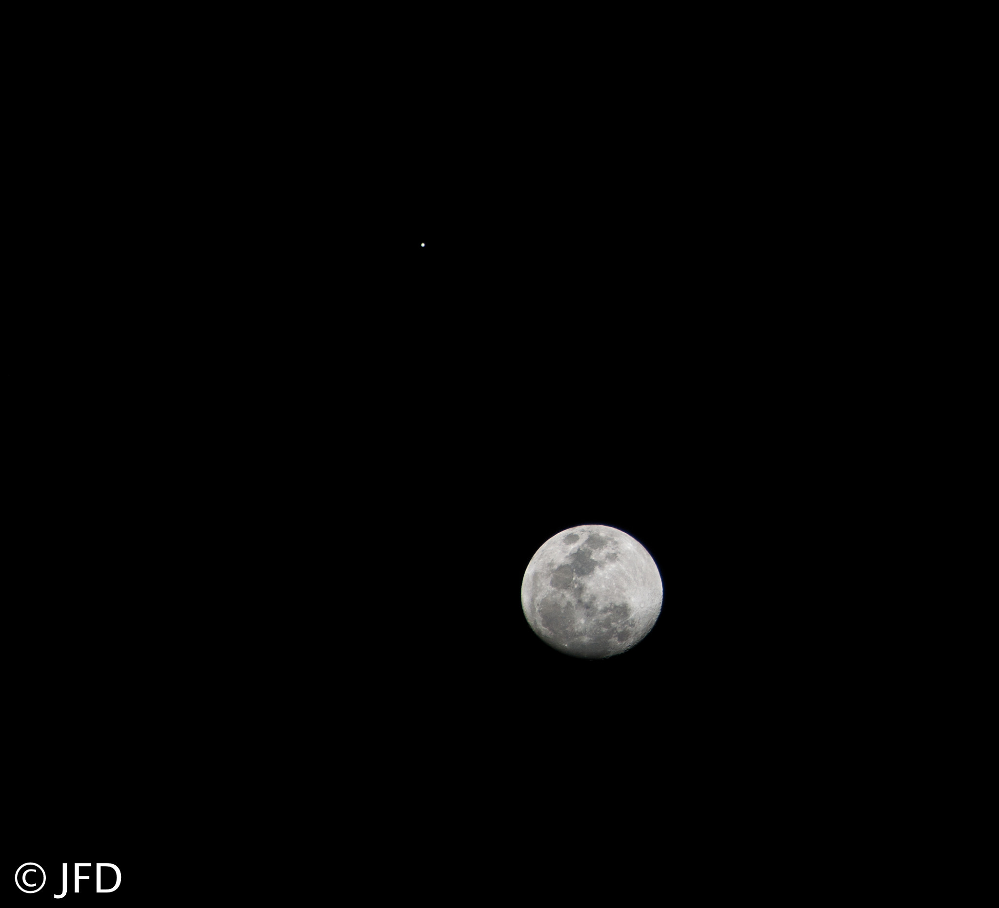 Photograph jupiter & moon dec25 by Juanfer Duran on 500px