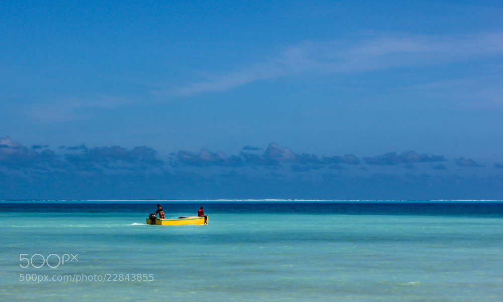 Photograph Yellow Boat by Will Araujo on 500px