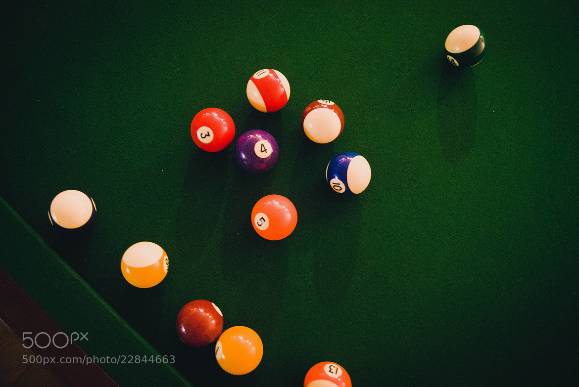 Photograph Billiards by Phill Farrugia on 500px