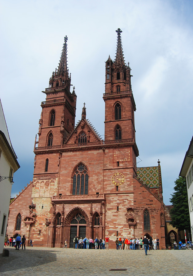 Minster Cathedral in Basel. by Alizada Studios on 500px.com