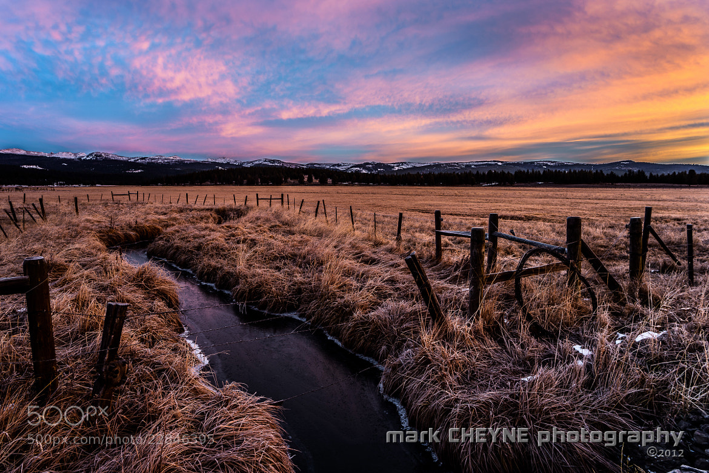 Photograph McCoy Creek Sunrise ii by Mark Cheyne on 500px