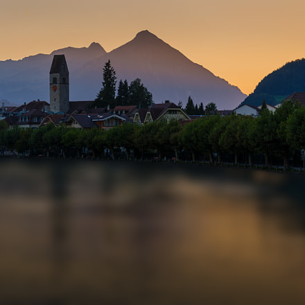 Sunset @ Interlaken