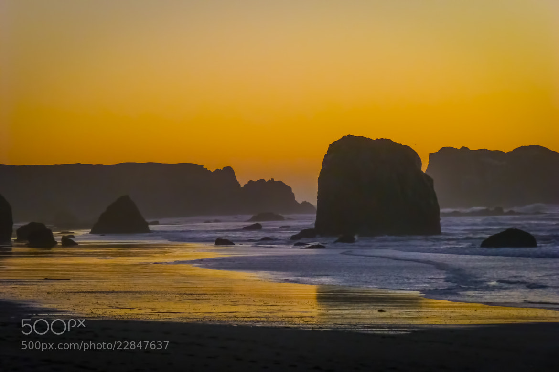 Photograph Bandon Sunset by Tom Brichta on 500px