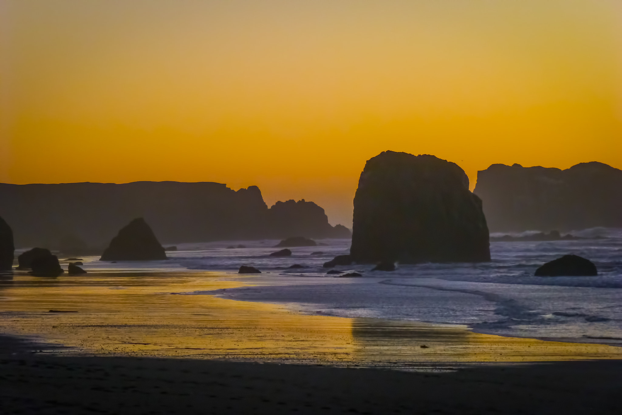 Photograph Bandon Sunset by Tom Brichta on 500px