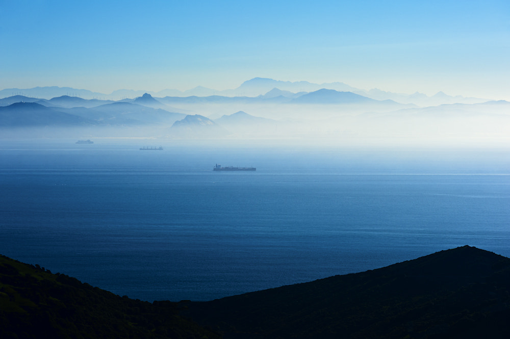 Photograph Strait of Gibraltar by Allard Schager on 500px