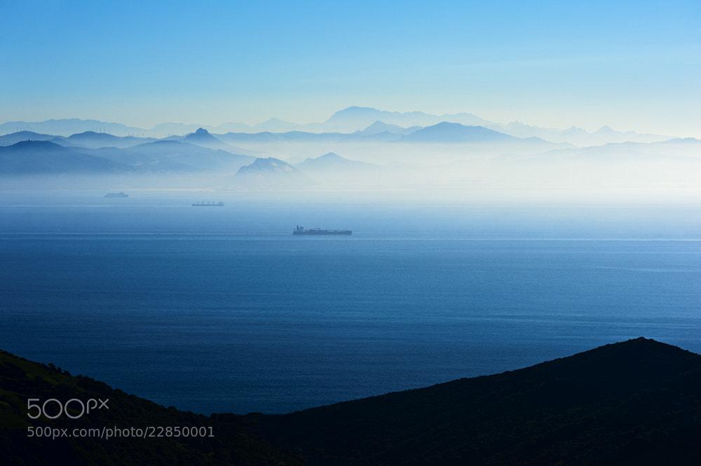 Photograph Strait of Gibraltar by Allard Schager on 500px