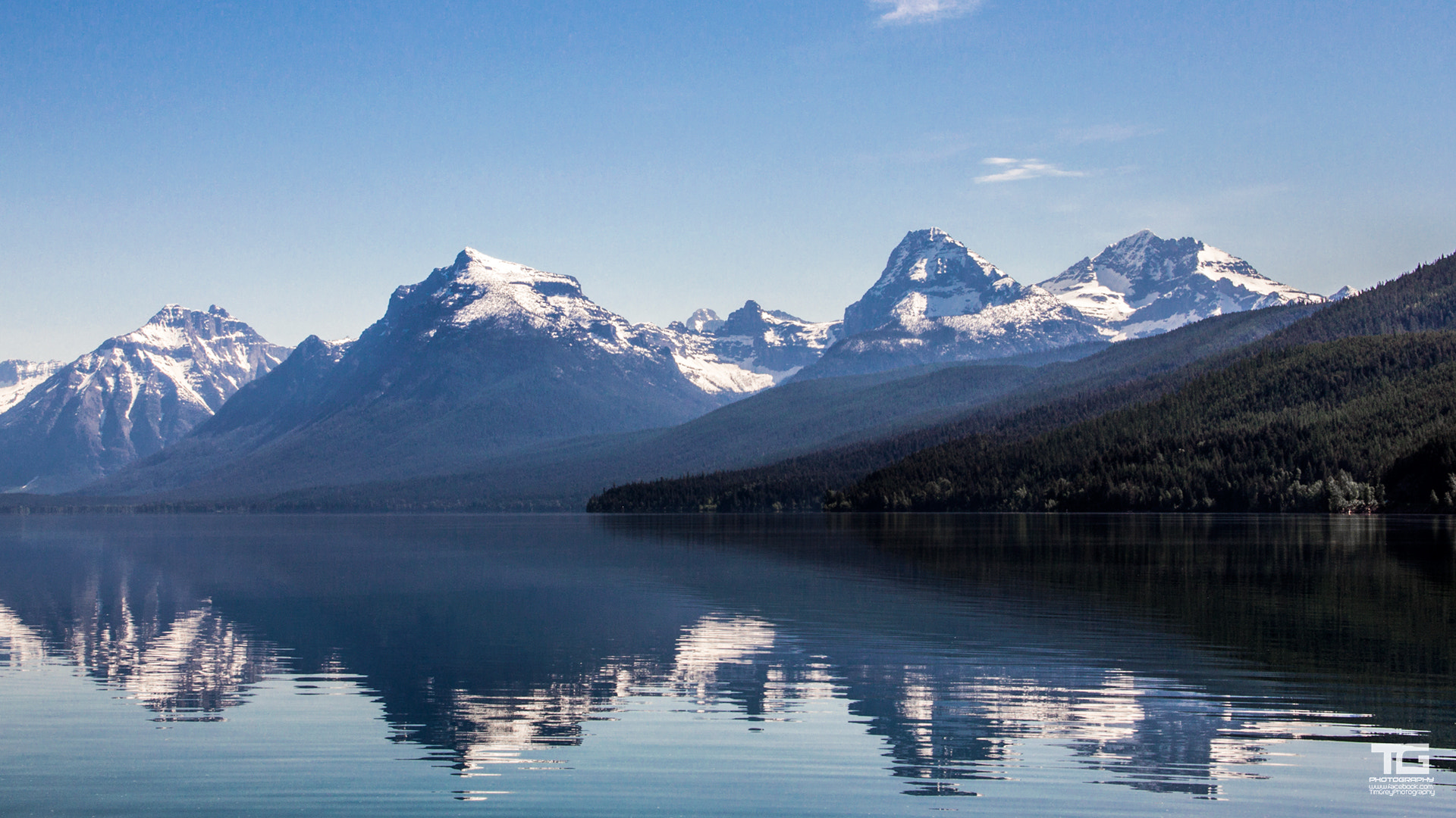Photograph Glacier Mountians by Tim Grey on 500px