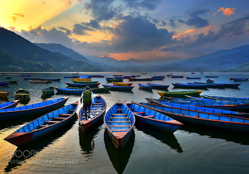 Photograph Fewa lake by sarawut Intarob on 500px