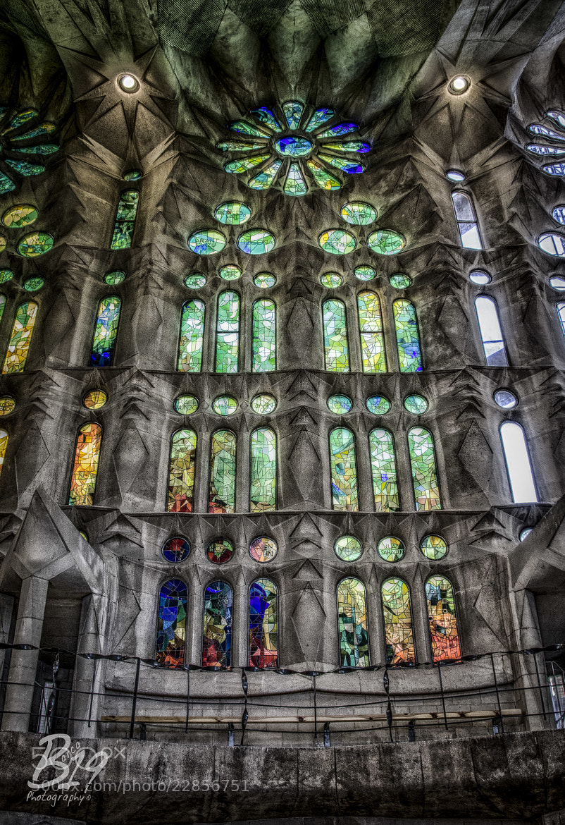 Photograph Sagrada Familia by Sam Smallwoods on 500px