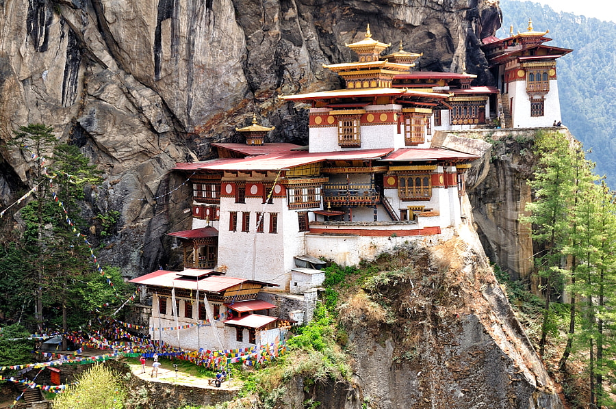 Tigers Nest Monastery by Csilla Zelko on 500px.com