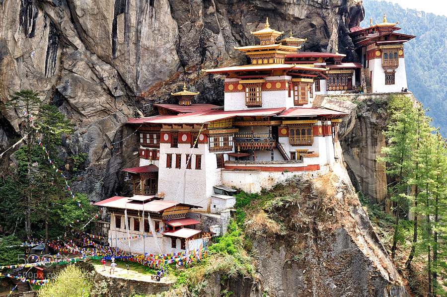 Photograph Tiger's Nest Monastery by Csilla Zelko on 500px