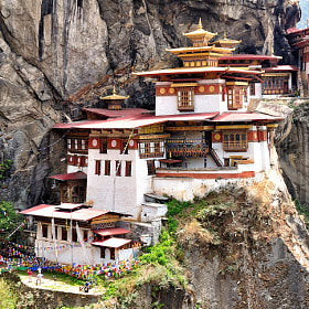 Tiger's Nest Monastery by Csilla Zelko (csillogo11)) on 500px.com