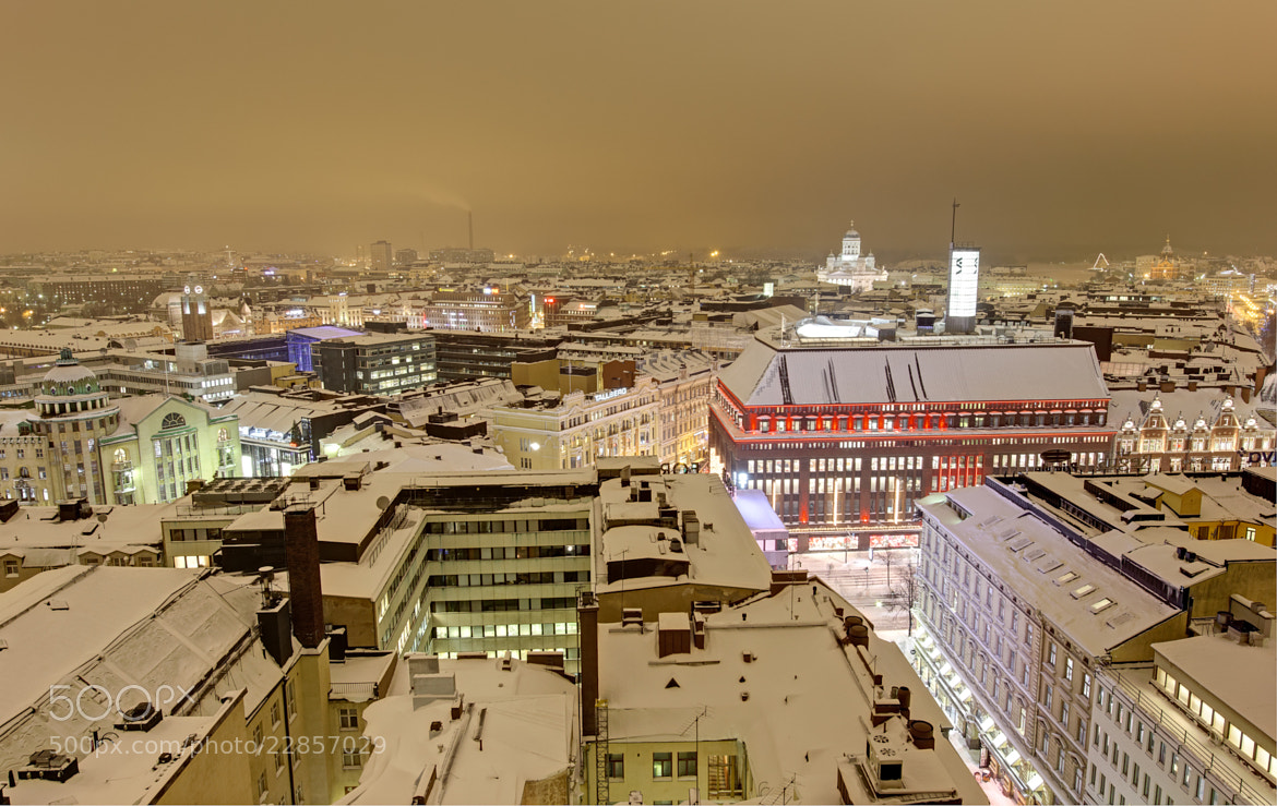 Photograph Scandinavian Winter Cityscape by Stefano Di Chiara on 500px
