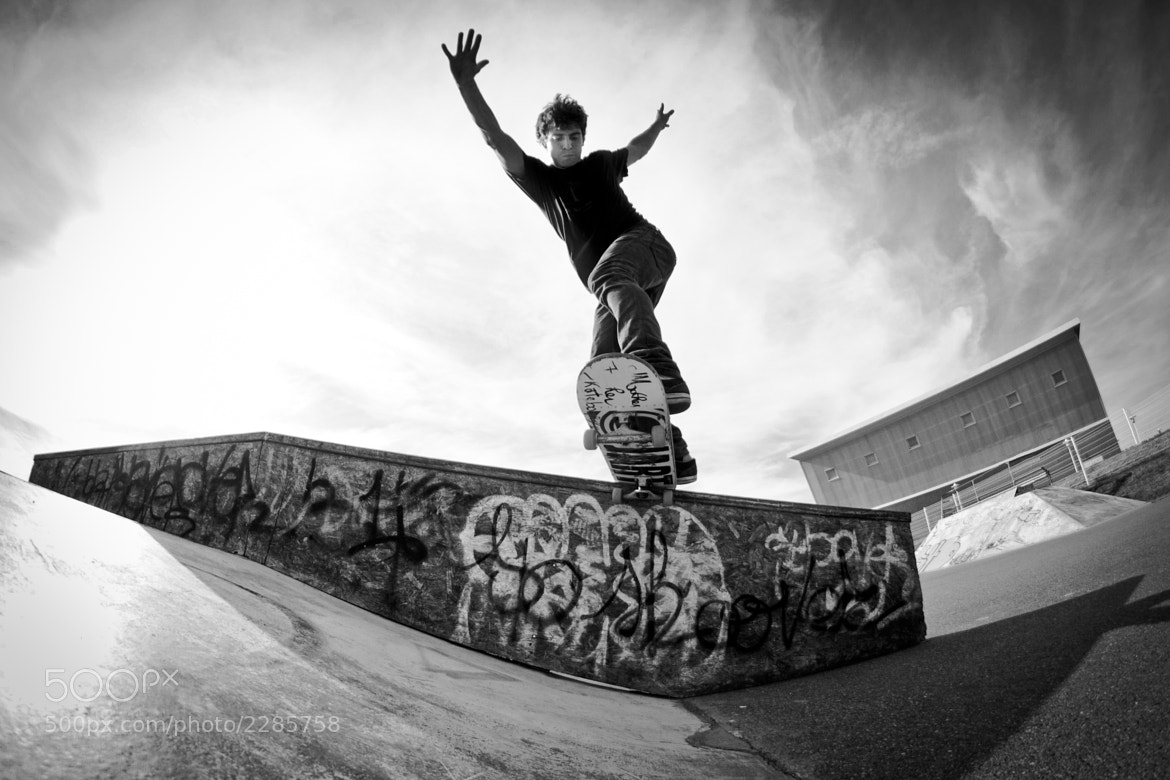 Photograph Backside Tailslide by Julien R on 500px