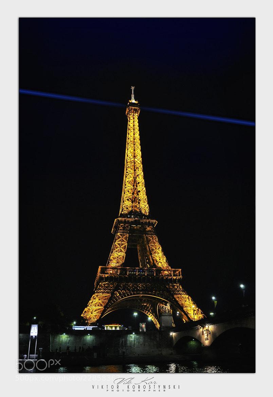 Photograph Eiffel Tower. Paris by Viktor Korostynski on 500px