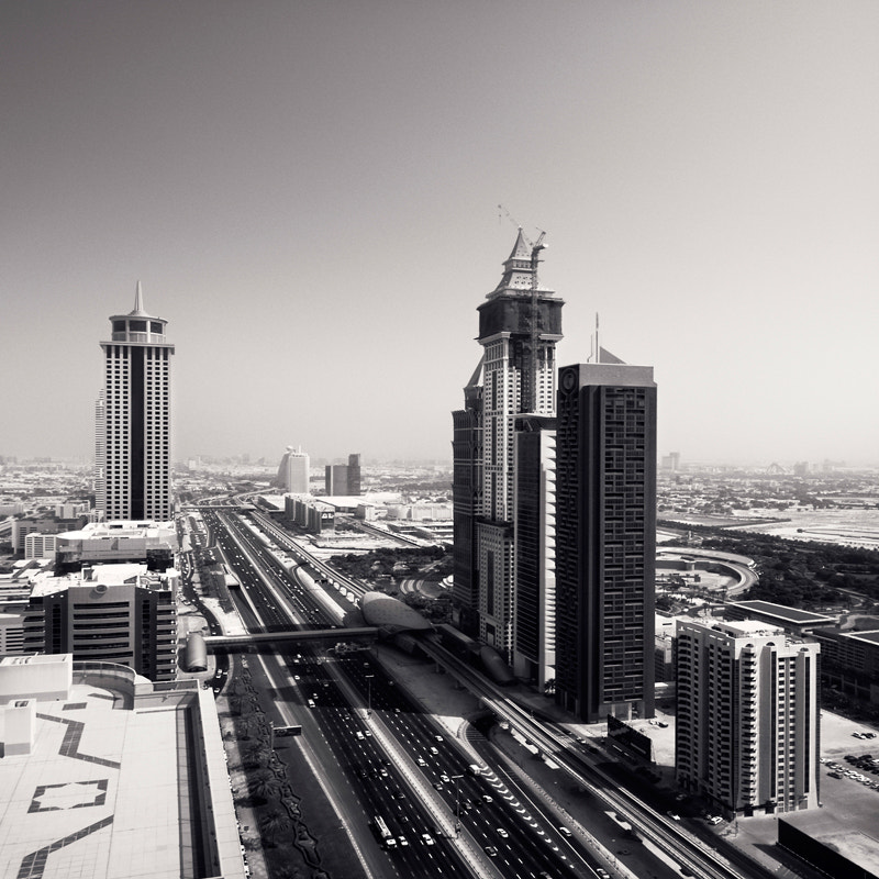 Photograph Sheikh Zayed Road,#552 U.A.E. by Ronny Ritschel on 500px