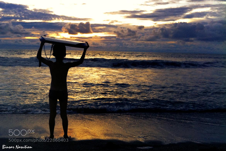 Photograph Beach Boy by Binsar Nasution on 500px