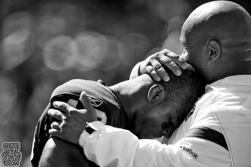 Photograph Jacoby Ford & Hue Jackson by Matt Cohen on 500px