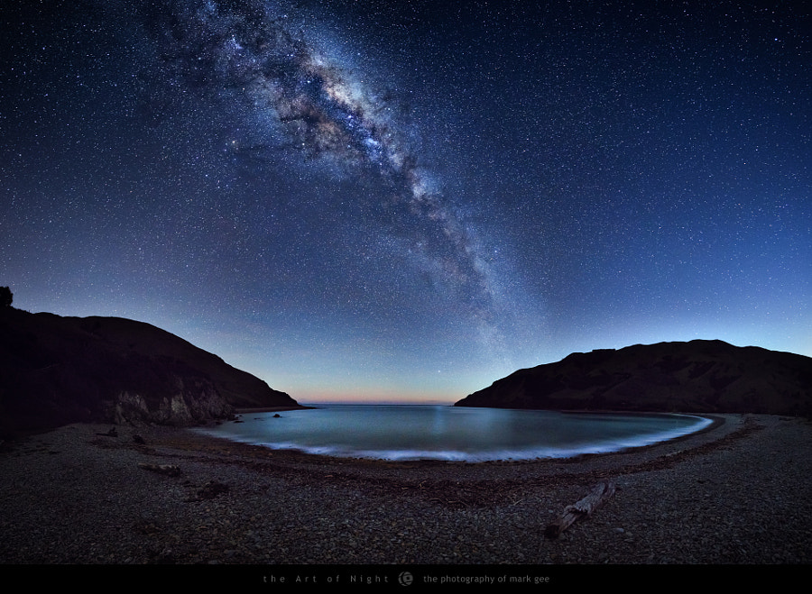 Night At The Bay by Mark Gee on 500px.com