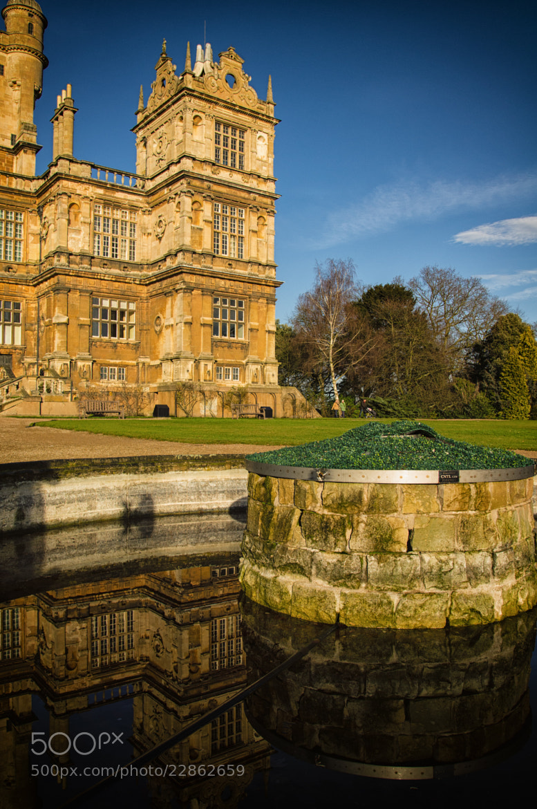 Photograph Wollaton Hall from the Fountain by Alex Clark on 500px
