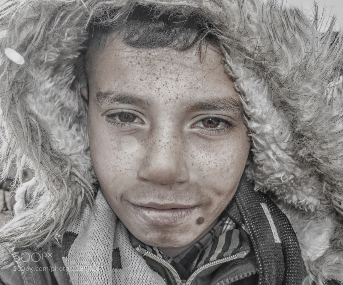 Photograph Freckles Snow  by jamil ghanayem on 500px