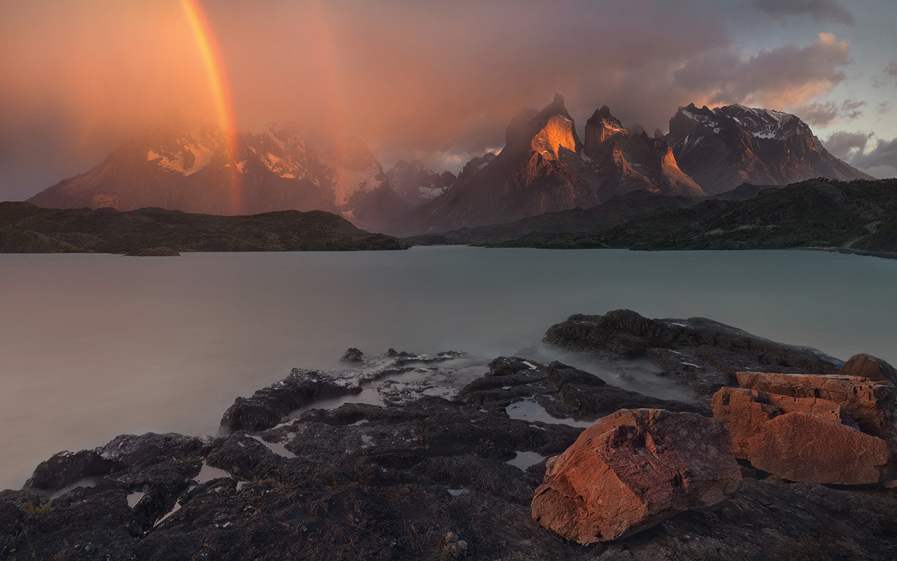 Photograph Cuernos del Painе  by Mike Reyfman on 500px