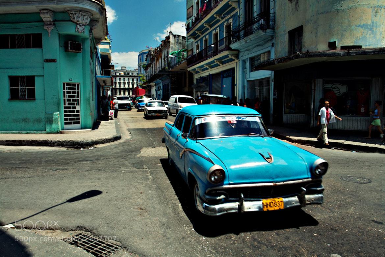 Photograph Havana Centro by Tom Eversley on 500px