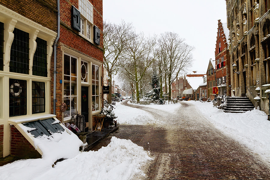 Photograph Winter in Veere by Deen Guldemond on 500px