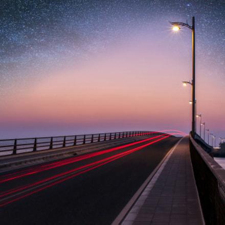 Lights, Trails and the Bridge